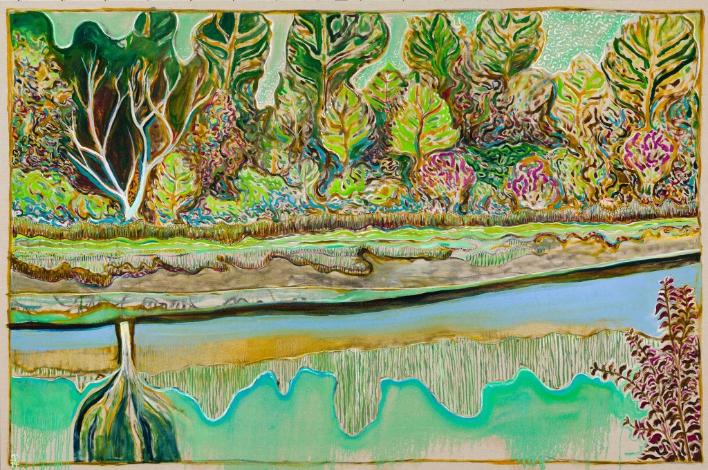 Billy Childish Carl Freedman Gallery Oil On Linen Painting